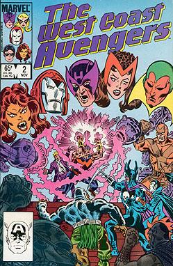 West Coast Avengers #2
