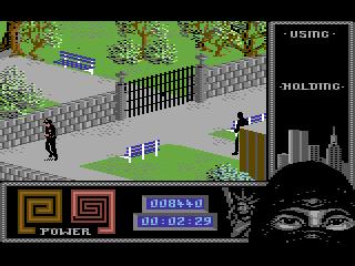Last Ninja 2 - the park