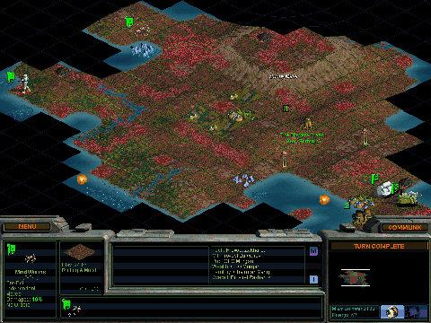 Sid Meier's Alpha Centauri - gameplay