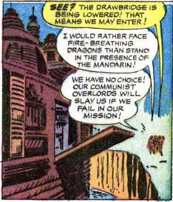 """""""We have no choice! Our Communist overlords will slay us if we fail in our mission!"""""""