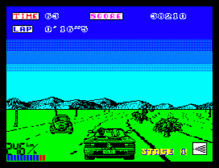 Out Run (ZX Spectrum)