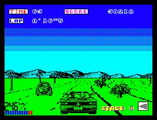 Out Run (ZX Spectrum)