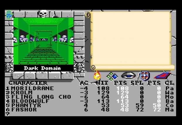 Bard's Tale II - dungeon
